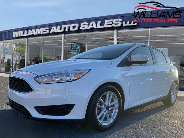 2018 Ford Focus for sale at Williams Auto Sales, LLC in Cookeville TN