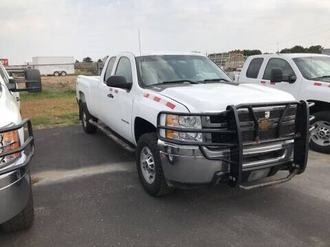2013 Chevrolet 2500 HD 4X4 EXT CAB LB for sale at CARGO VAN GO.COM in Shakopee MN