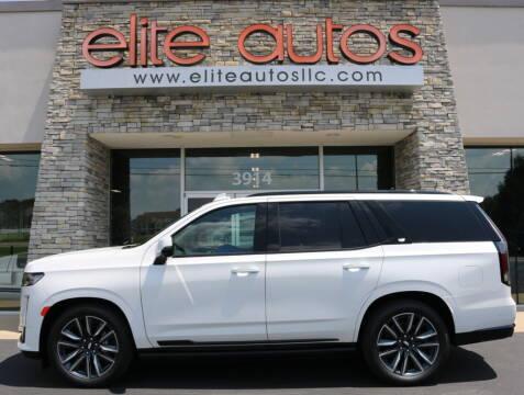 2021 Cadillac Escalade for sale at Elite Autos LLC in Jonesboro AR