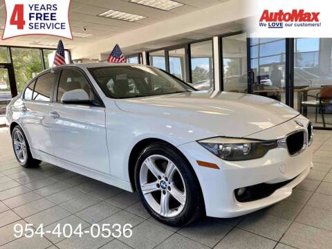 2014 BMW 3 Series for sale at Auto Max in Hollywood FL