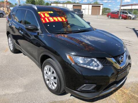 2016 Nissan Rogue for sale at tazewellauto.com in Tazewell TN