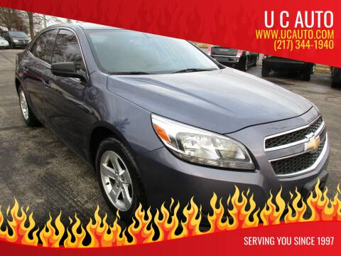 2013 Chevrolet Malibu for sale at U C AUTO in Urbana IL