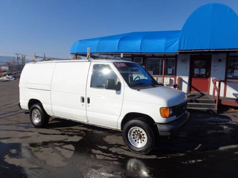 2007 Ford E-Series Cargo for sale at Jim's Cars by Priced-Rite Auto Sales in Missoula MT