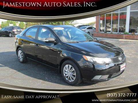 2010 Kia Forte for sale at Jamestown Auto Sales, Inc. in Xenia OH