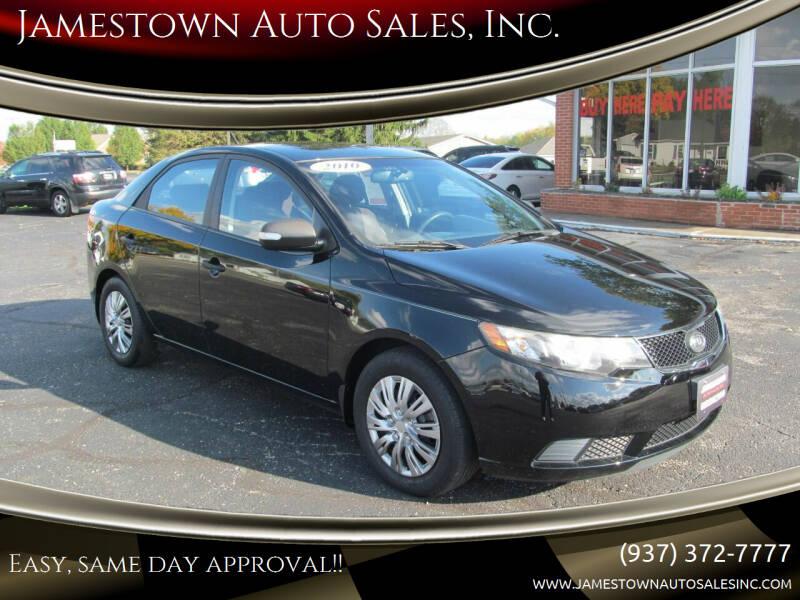 2010 Kia Forte for sale at Jamestown Auto Sales, Inc. in Xenia OH