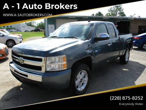 2010 Chevrolet Silverado 1500 for sale at A - 1 Auto Brokers in Ocean Springs MS