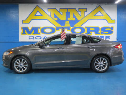 2017 Ford Fusion for sale at ANNA MOTORS, INC. in Detroit MI