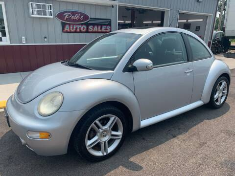 2005 Volkswagen New Beetle for sale at PETE'S AUTO SALES LLC - Dayton in Dayton OH