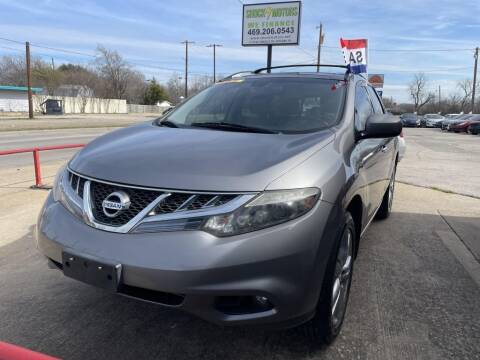 2011 Nissan Murano for sale at Shock Motors in Garland TX