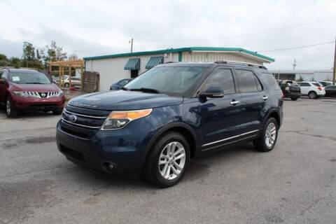 2012 Ford Explorer for sale at Jamrock Auto Sales of Panama City in Panama City FL