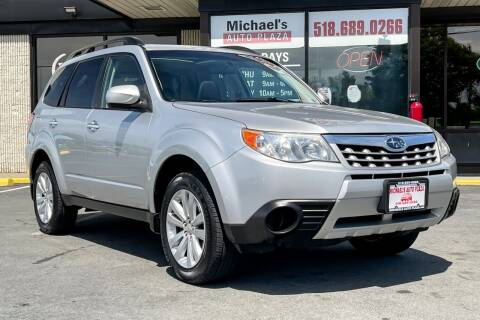 2011 Subaru Forester for sale at Michaels Auto Plaza in East Greenbush NY