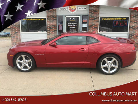 2015 Chevrolet Camaro for sale at Columbus Auto Mart in Columbus NE