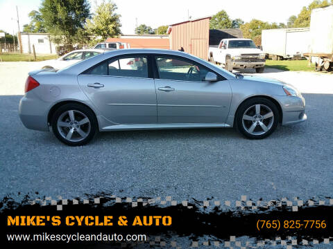 2008 Pontiac G6 for sale at MIKE'S CYCLE & AUTO in Connersville IN