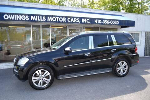 2010 Mercedes-Benz GL-Class for sale at Owings Mills Motor Cars in Owings Mills MD