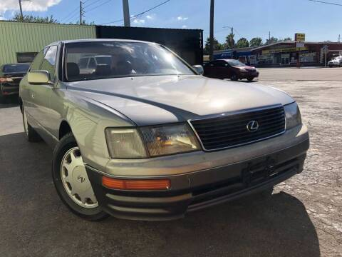 1996 Lexus LS 400 for sale at Out Run Automotive Sales and Service Inc in Tampa FL