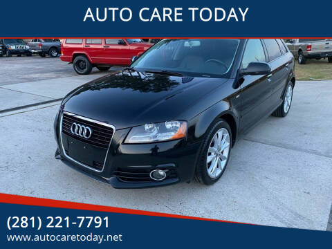 2012 Audi A3 for sale at AUTO CARE TODAY in Spring TX