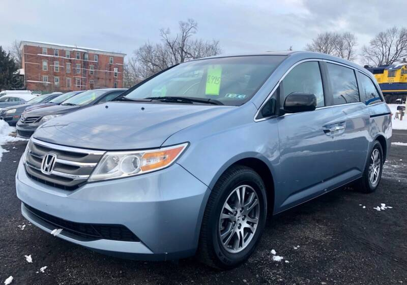 2012 Honda Odyssey for sale at Mayer Motors of Pennsburg in Pennsburg PA