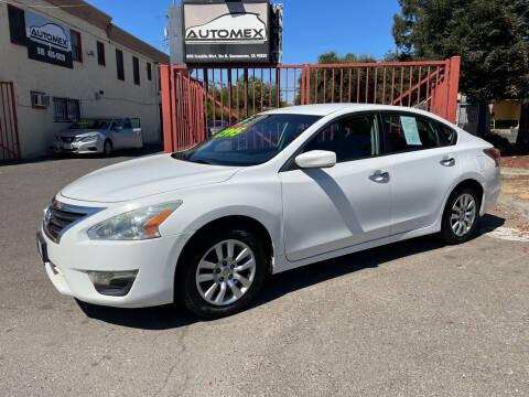 2015 Nissan Altima for sale at AUTOMEX in Sacramento CA