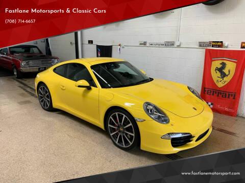 2012 Porsche 911 for sale at Fastlane Motorsports & Classic Cars in Addison IL