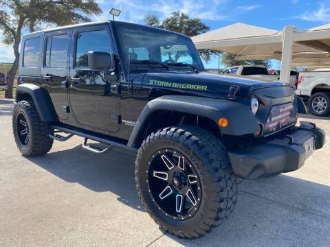 2010 Jeep Wrangler Unlimited for sale at Thornhill Motor Company in Hudson Oaks, TX