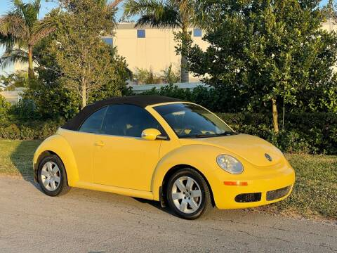2007 Volkswagen New Beetle Convertible for sale at D & P OF MIAMI CORP in Miami FL
