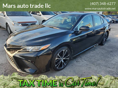 2018 Toyota Camry for sale at Mars auto trade llc in Kissimmee FL