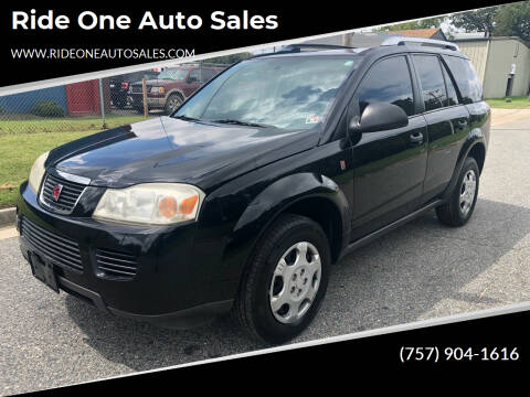 2007 Saturn Vue for sale at Ride One Auto Sales in Norfolk VA