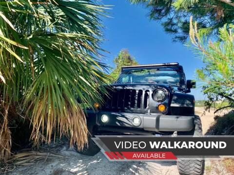 2011 Jeep Wrangler Unlimited for sale at AUTOSPORT MOTORS in Lake Park FL