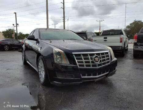 2013 Cadillac CTS for sale at Start Auto Liquidation Center in Miramar FL