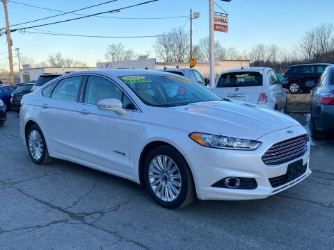 2013 Ford Fusion Hybrid for sale at MetroWest Auto Sales in Worcester MA