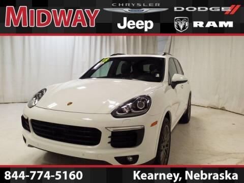 2018 Porsche Cayenne for sale at MIDWAY CHRYSLER DODGE JEEP RAM in Kearney NE