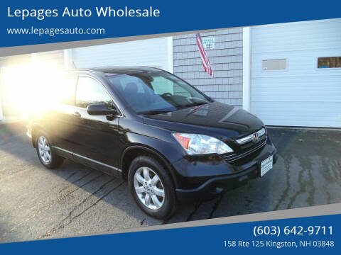 2009 Honda CR-V for sale at Lepages Auto Wholesale in Kingston NH