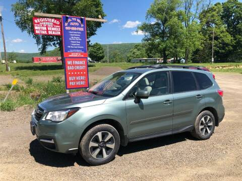 2018 Subaru Forester for sale at Wahl to Wahl Auto in Cooperstown NY