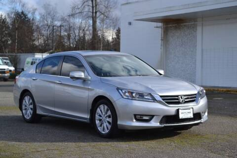 2015 Honda Accord for sale at Skyline Motors Auto Sales in Tacoma WA