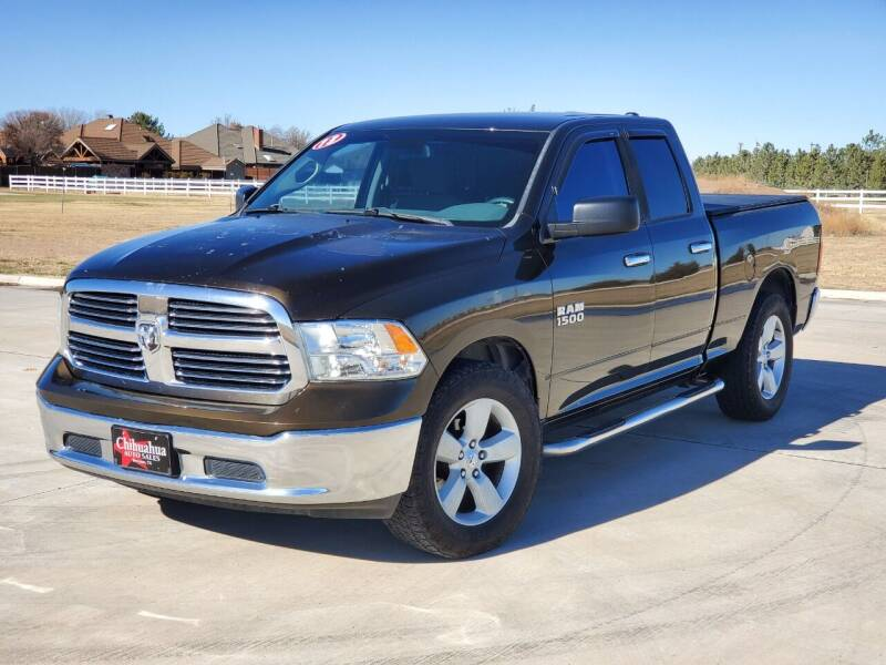 2013 RAM Ram Pickup 1500 for sale at Chihuahua Auto Sales in Perryton TX