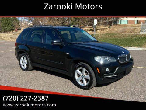 2008 BMW X5 for sale at Zarooki Motors in Englewood CO