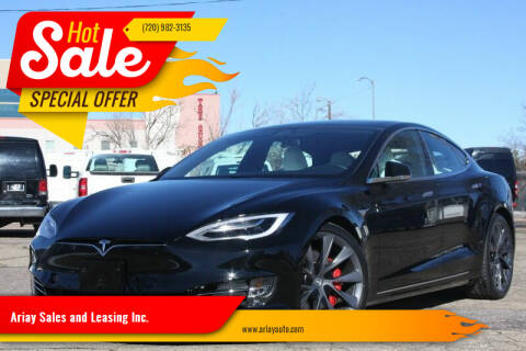 2020 Tesla Model S for sale at Ariay Sales and Leasing Inc. in Denver CO