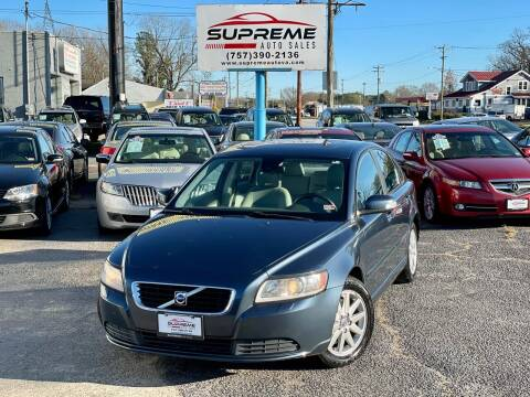 2008 Volvo S40 for sale at Supreme Auto Sales in Chesapeake VA