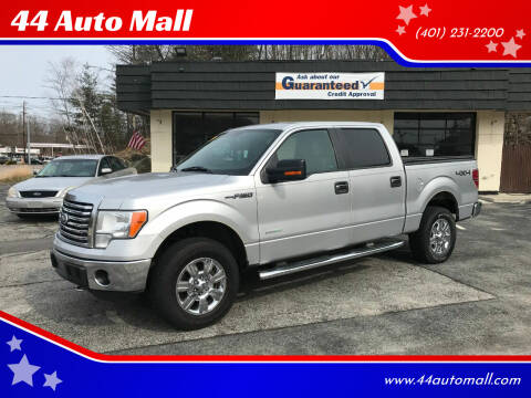 2012 Ford F-150 for sale at 44 Auto Mall in Smithfield RI