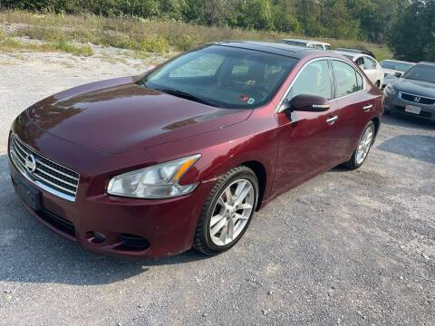 2011 Nissan Maxima for sale at GET N GO USED AUTO & REPAIR LLC in Martinsburg WV
