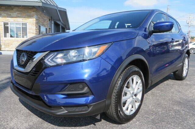 2021 Nissan Rogue Sport for sale at Eddie Auto Brokers in Willowick OH