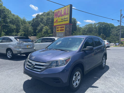 2012 Honda CR-V for sale at No Full Coverage Auto Sales in Austell GA