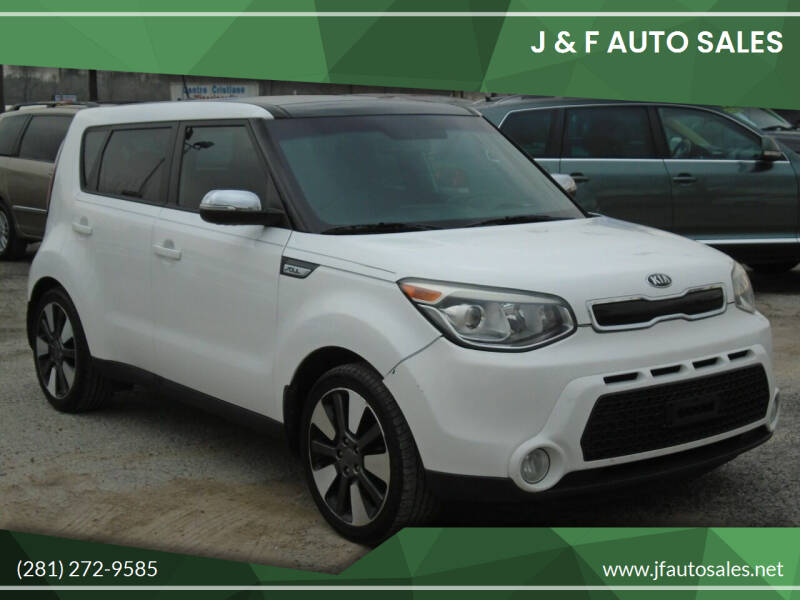 2014 Kia Soul for sale at J & F AUTO SALES in Houston TX