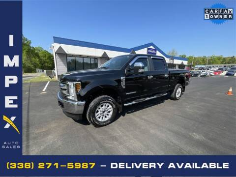 2019 Ford F-250 Super Duty for sale at Impex Auto Sales in Greensboro NC