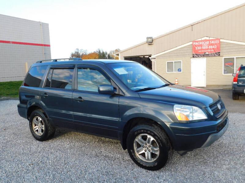 2004 Honda Pilot for sale at Macrocar Sales Inc in Akron OH