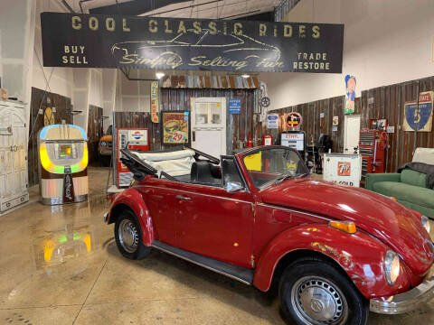 1971 Volkswagen Beetle Convertible for sale at Cool Classic Rides in Redmond OR