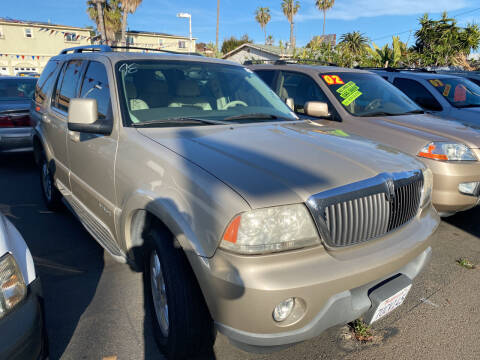 2004 Lincoln Aviator for sale at North County Auto in Oceanside CA