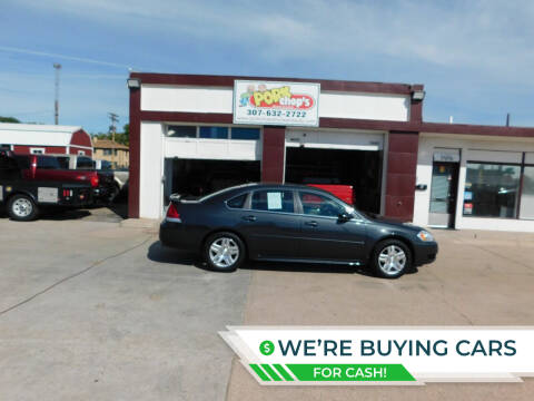 2012 Chevrolet Impala for sale at Pork Chops Truck and Auto in Cheyenne WY