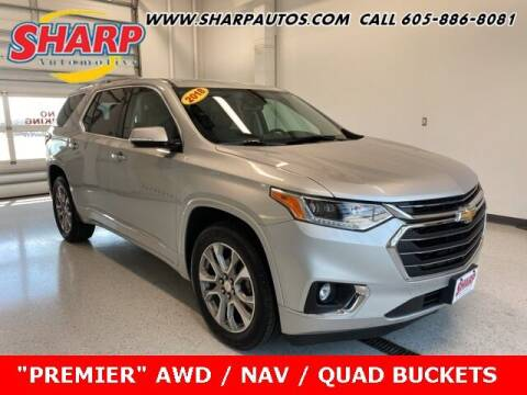 2018 Chevrolet Traverse for sale at Sharp Automotive in Watertown SD