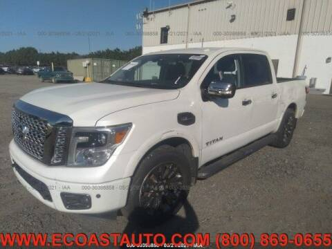 2017 Nissan Titan for sale at East Coast Auto Source Inc. in Bedford VA